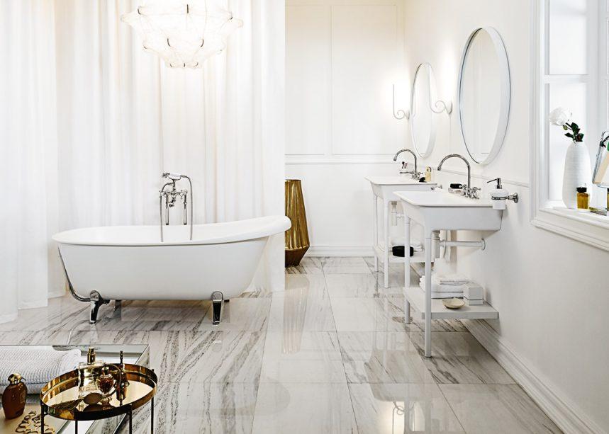 La salle de bains en mode vintage - Espaces Contemporains