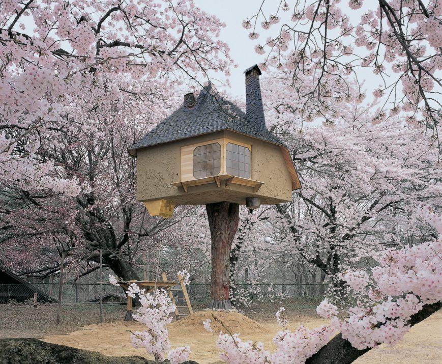 Architectes japonais. Maison de thé Tetsu © DR parue dans Espaces contemporains n°4-2009