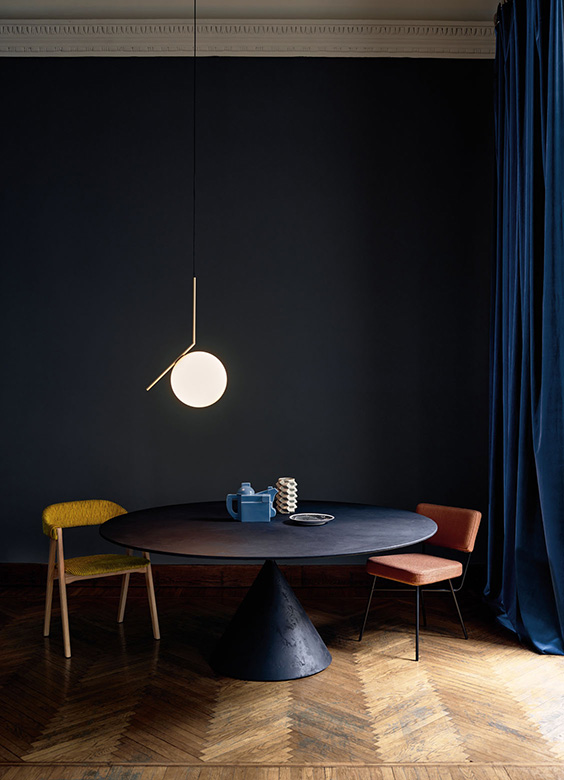 Suspension IC Light S, design Michael Anastassiades, Flos
