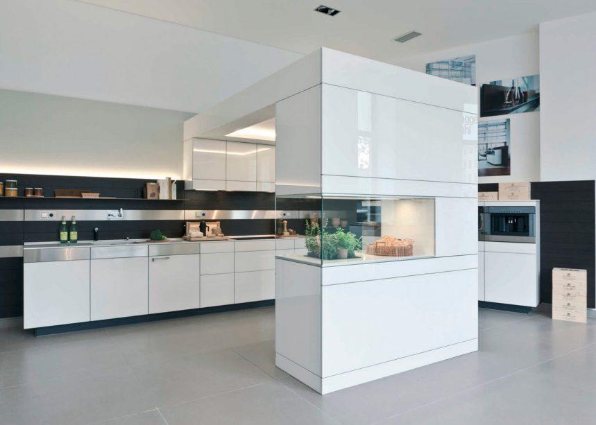 la cuisine semi ouverte espaces contemporains. Black Bedroom Furniture Sets. Home Design Ideas