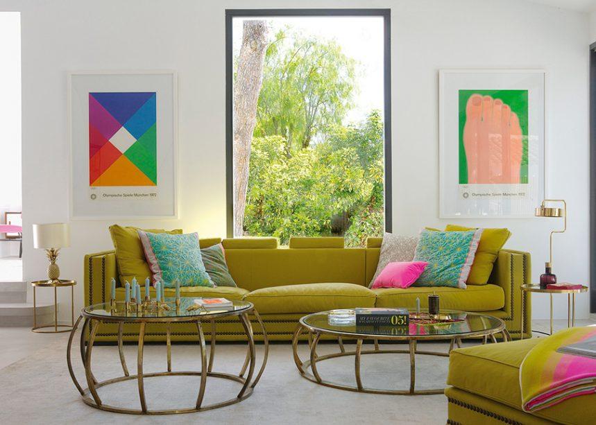 Osez un salon en couleur !