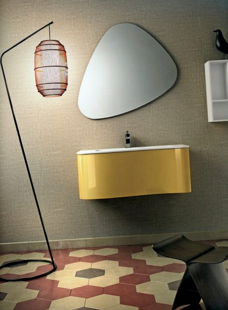 la salle de bains en mode vintage espaces contemporains. Black Bedroom Furniture Sets. Home Design Ideas
