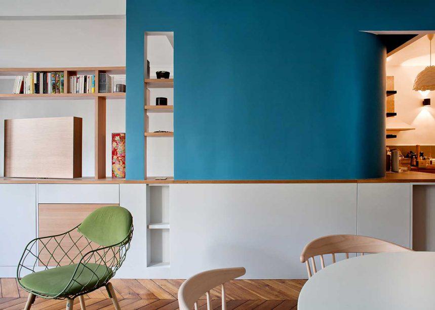 s parer les espaces int rieurs sans fermer espaces contemporains. Black Bedroom Furniture Sets. Home Design Ideas
