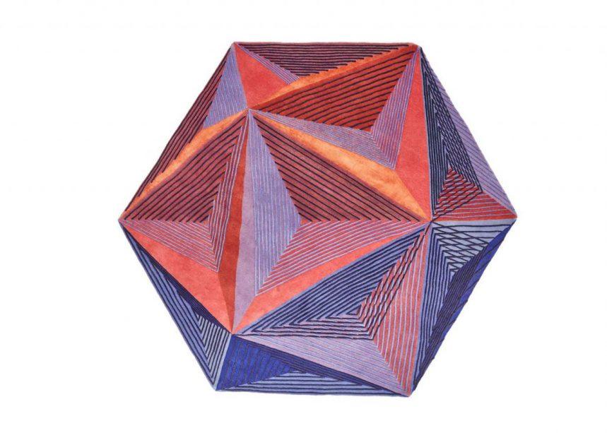 Tapis g om triques design jeux de formes l mentaires - Tapis forme geometrique ...