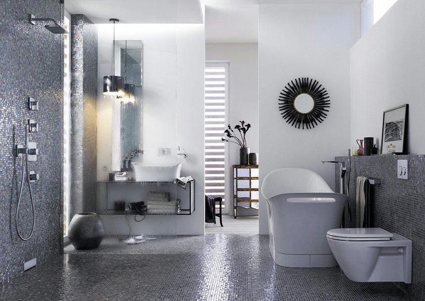 la douche l italienne espaces contemporains. Black Bedroom Furniture Sets. Home Design Ideas