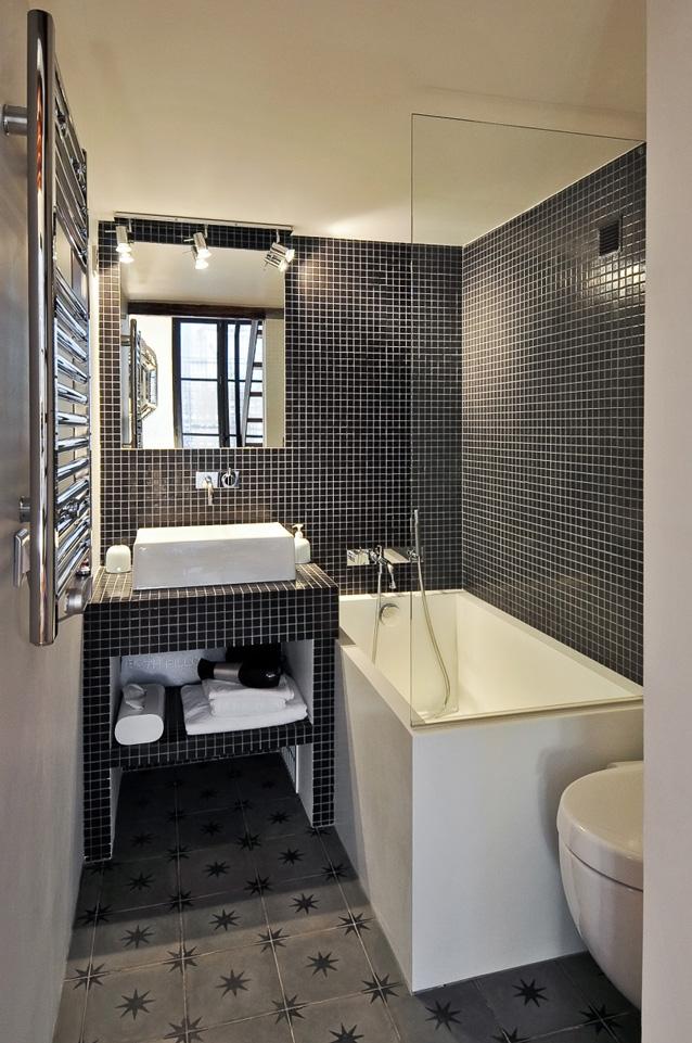 La salle de bains version mini - Espaces Contemporains
