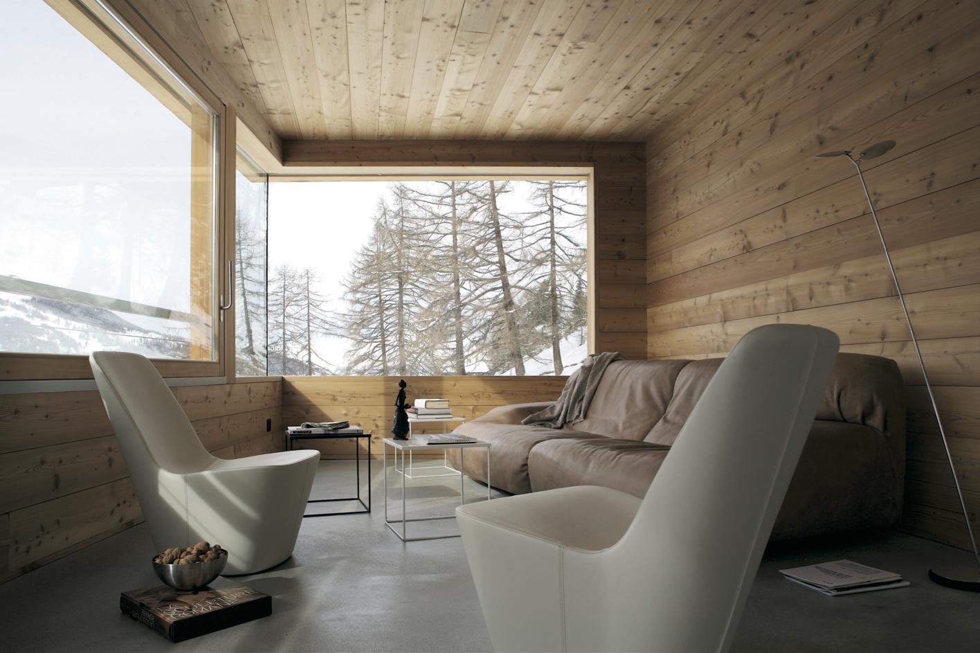 Deco Chambre Lambris Bois décorer son chalet, une affaire de styles - espaces