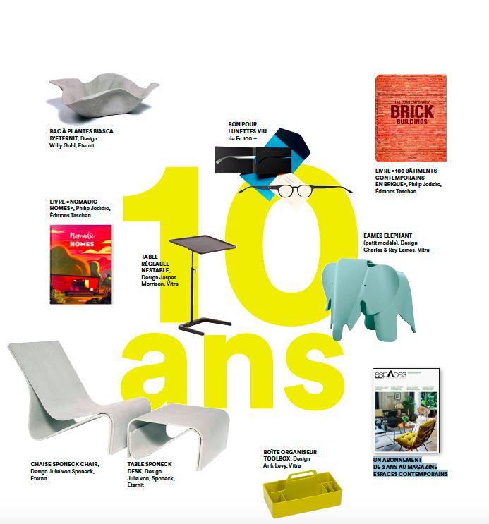 Concours 10 ans Design Days