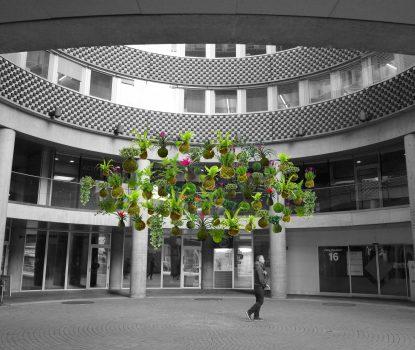 La Cour Galfetti. Lausanne Jardin 2018
