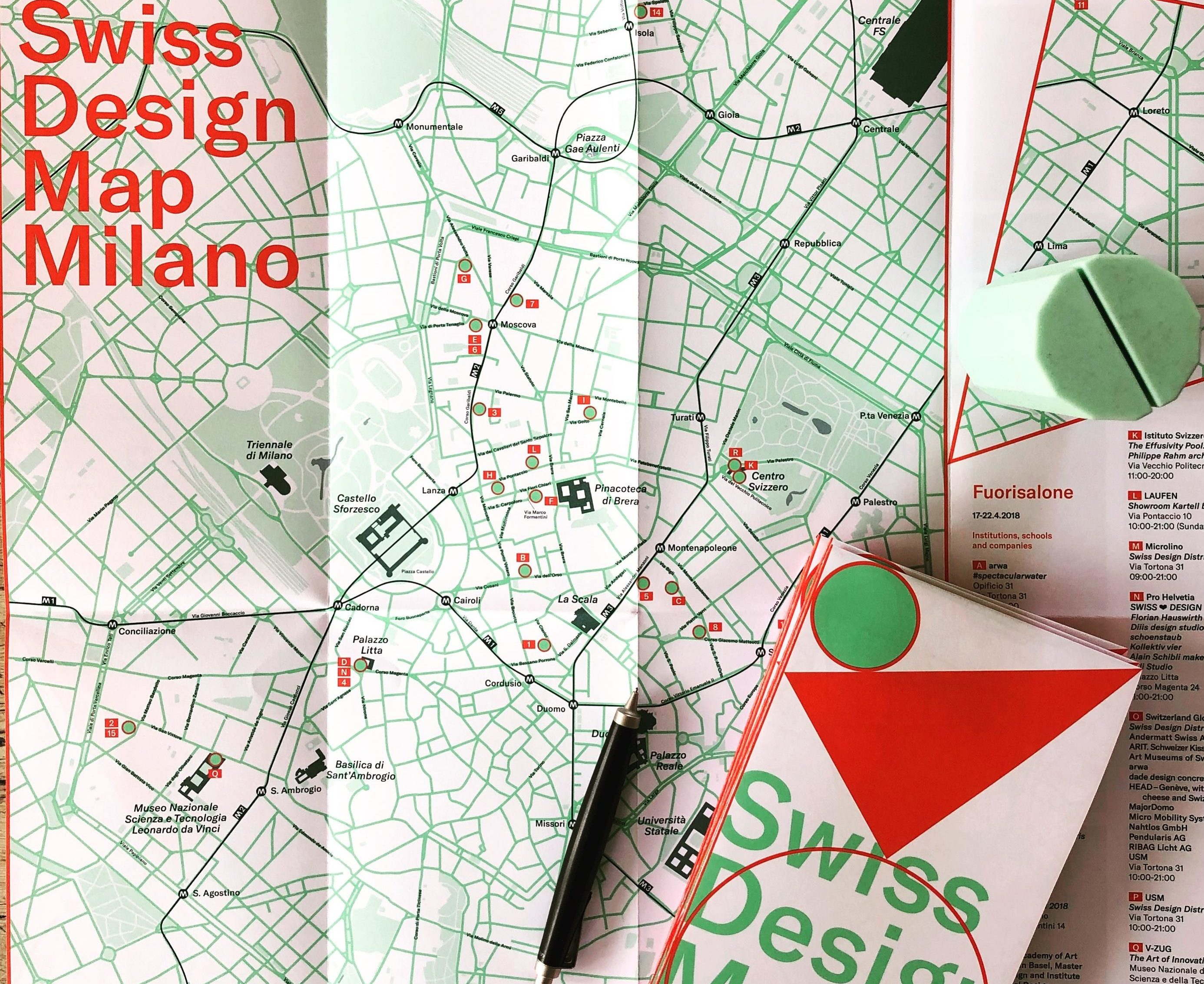 Swiss Design Map