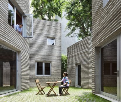 L'architecture en bambou de Vo Trong Nghia. House for trees.