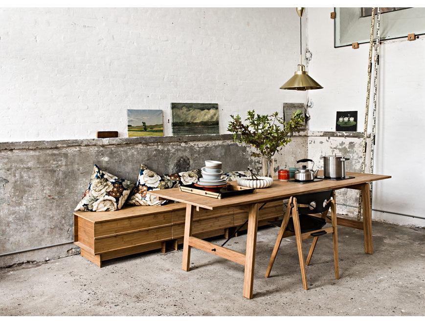 dining table we do wood bois danois design