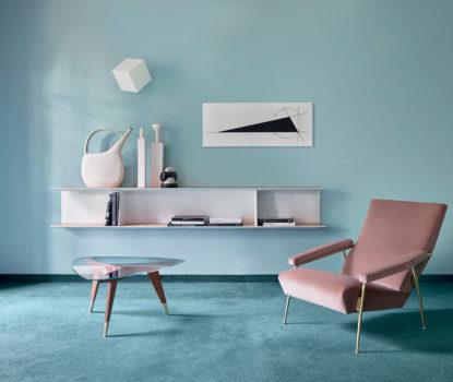 Les meubles et accessoires décoratifs de Gio Ponti. Heritage, Molteni