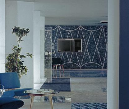 Les meubles et accessoires décoratifs de Gio Ponti. Hôtel Parco dei Principi à Sorrente