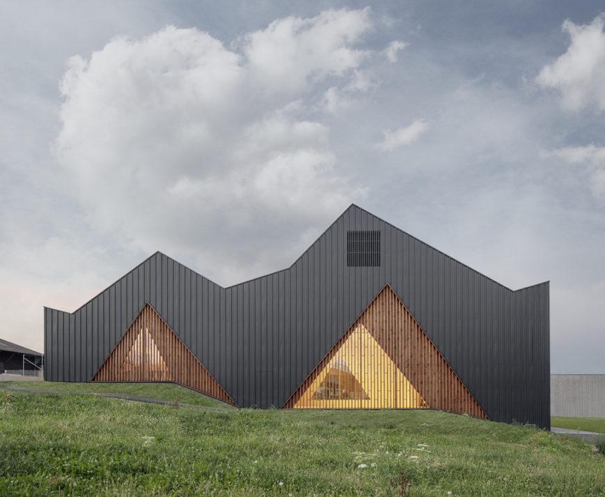 Distinction Romande d'Architecture 2018. Salle polyvalente Le Vaud