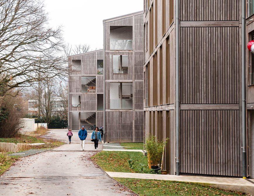 Distinction Romande d'Architecture 2018. Ensemble Chemin Rigaud