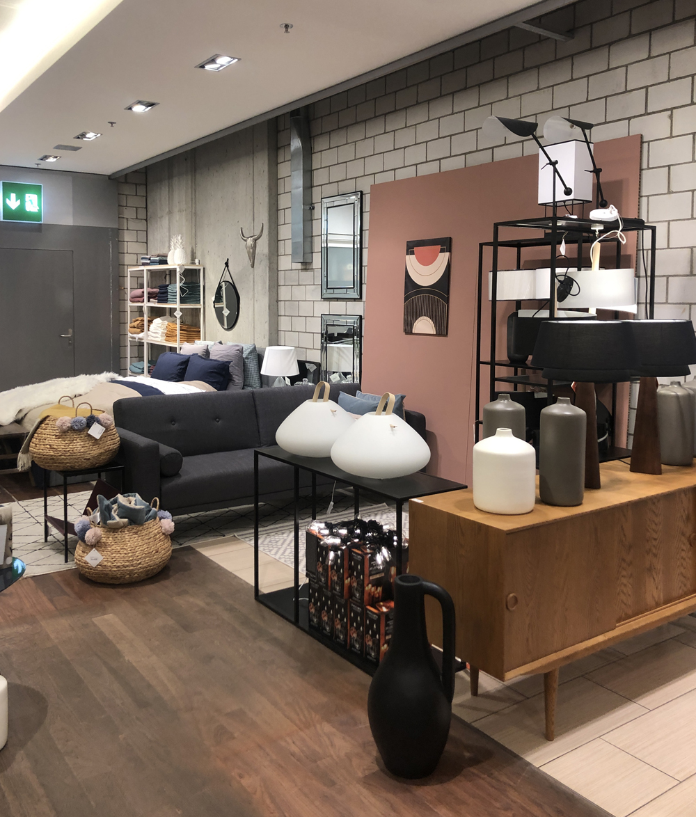 Pop-up store La Redoute Zurich