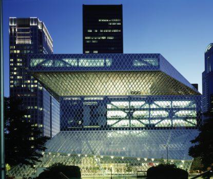 La bibliothèque centrale de Seattle (Seattle Central Library) 2004. Rem Koolhaas.
