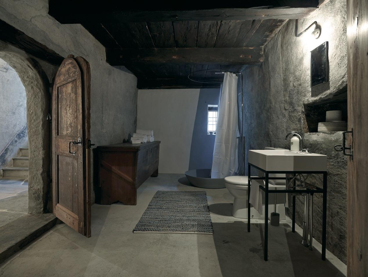 Mobilier Pour Chalet Montagne salle de bain, l'esprit chalet de montagne revisité façon design