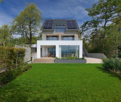 La maison témoinBaufritz de Langenargen, au bord du lac de Constance
