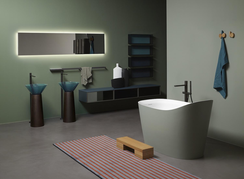 Les Couleurs Qui Se Marient Avec Le Vert salles de bains design et modernes: les couleurs tendance du