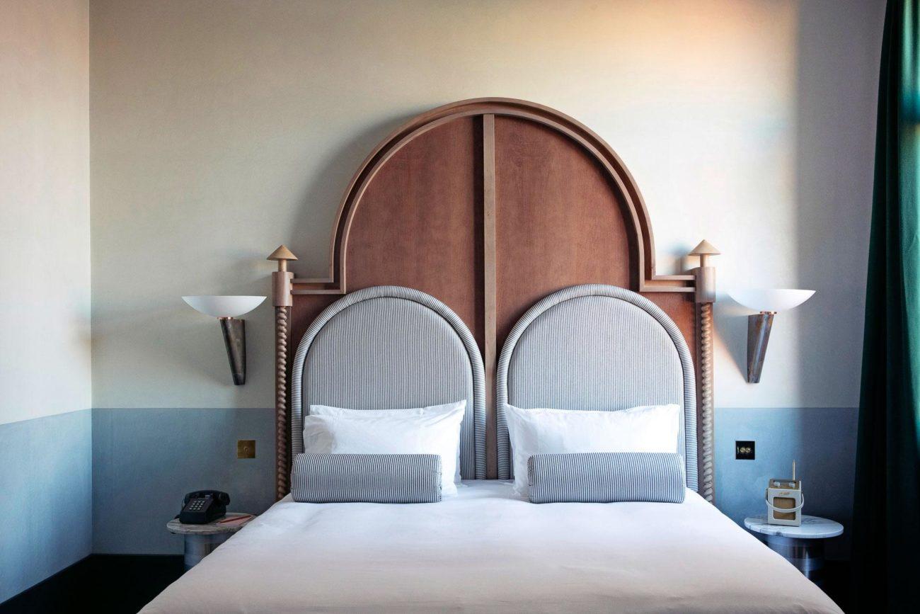 Modèle de lit contemporain et original