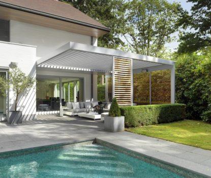 Arbiter sa terrasse avec une pergola bioclimatique
