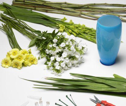 Réussir un bouquet d'été