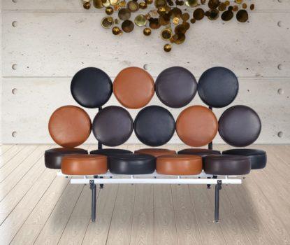 Canapé au design original, atypique et insolite. Marshmallow, Vitra.