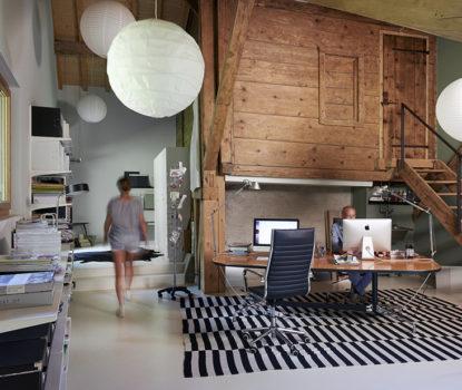 Rénovation intérieur rustique, esprit moderne et contemporain