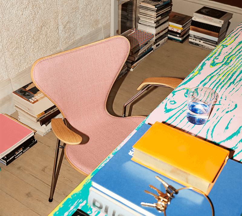 les modèles de chaises de bureau rétro et vintage