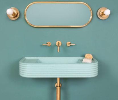 Salle de bain boudoir, mélanger l'esprit contemporain et style classique