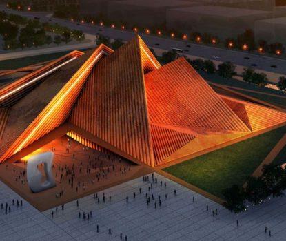 Chef d'œuvre de l'architecture inauguré en 2021