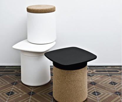 Le liège, une tendance déco et design. Mobilier et accessoires décoratifs.