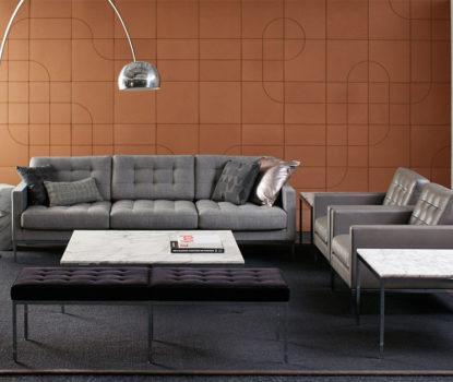 Canapé minimaliste chic haut de gamme et best-seller indémodable