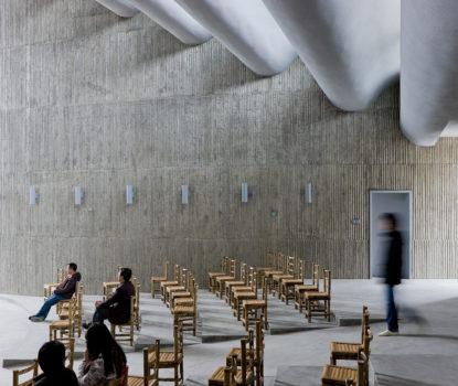 Bâtiment religieux et église moderne et contemporain